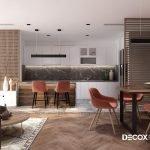 Thiết kế nội thất chung cư Vinhomes Central Park 140m2