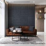 Thiết kế nội thất chung cư Vinhomes Central Park 80m2