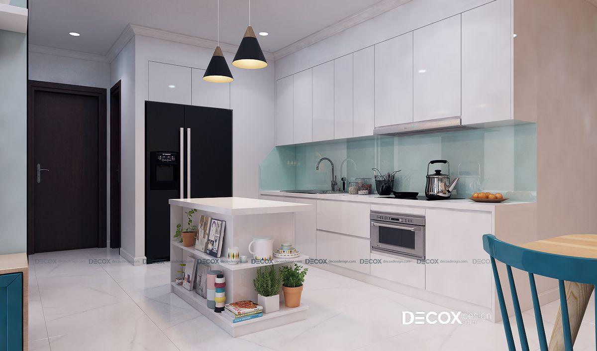 Thiết kế nội thất chung cư Vinhomes 80m2