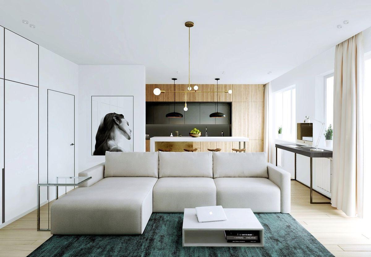 Thiết kế phòng khách tối giản hiện được ưa chuộng